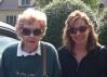 A week later, Mom still sporting hersunglasses